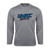 Performance Steel Longsleeve Shirt-UMKC Roos