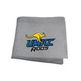 Grey Sweatshirt Blanket-UMKC Roos w/Roo