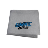 Grey Sweatshirt Blanket-UMKC Roos