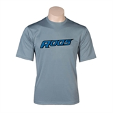 Performance Grey Concrete Tee-Roos