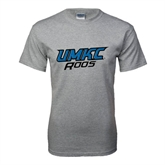 Grey T Shirt-UMKC Roos