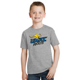 Youth Grey T-Shirt-UMKC Roos w/Roo