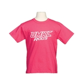 Youth Cyber Pink T Shirt-UMKC Roos