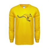 Gold Long Sleeve T Shirt-Roo