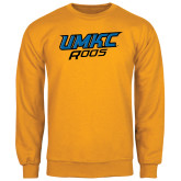 Gold Fleece Crew-UMKC Roos
