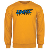 Gold Fleece Crew-Softball