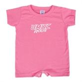 Bubble Gum Pink Infant Romper-UMKC Roos