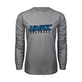 Grey Long Sleeve TShirt-Softball