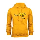 Gold Fleece Hood-Roo