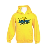Youth Gold Fleece Hood-UMKC Roos w/Roo