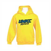 Youth Gold Fleece Hood-UMKC Roos