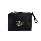 Koozie Six Pack Black Cooler-UMKC Roos w/Roo