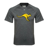 Under Armour Carbon Heather Tech Tee-Roo