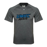 Under Armour Carbon Heather Tech Tee-UMKC Roos