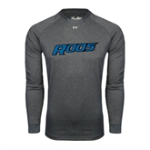 Under Armour Carbon Heather Long Sleeve Tech Tee-Roos