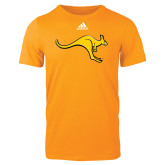 Adidas Gold Logo T Shirt-Roo