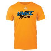 Adidas Gold Logo T Shirt-UMKC Roos
