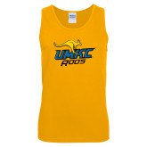 Gold Tank Top-UMKC Roos w/Roo