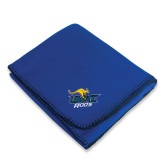 Royal Arctic Fleece Blanket-UMKC Roos w/Roo