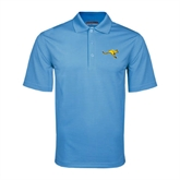 Light Blue Mini Stripe Polo-Roo