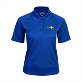Ladies Royal Textured Saddle Shoulder Polo-Roo