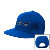 Royal Flat Bill Snapback Hat-Roos