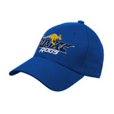 Royal Heavyweight Twill Pro Style Hat-UMKC Roos w/Roo