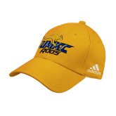 Adidas Gold Structured Adjustable Hat-UMKC Roos w/Roo