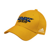 Adidas Gold Structured Adjustable Hat-UMKC Roos