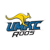 Small Magnet-UMKC Roos w/Roo, 6 in W