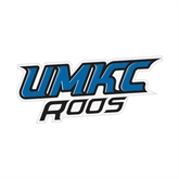 Small Magnet-UMKC Roos, 6 in W