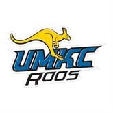 Medium Magnet-UMKC Roos w/Roo, 8 in W