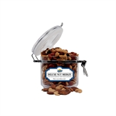 Deluxe Nut Medley Small Round Canister-UMKC Roos w/Kangaroo