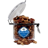 Deluxe Nut Medley Round Canister-UMKC Roos w/Kangaroo