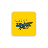Hardboard Coaster w/Cork Backing-UMKC Roos w/Roo