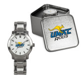 Mens Stainless Steel Fashion Watch-UMKC Roos w/Roo