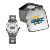 Ladies Stainless Steel Fashion Watch-UMKC Roos w/Roo