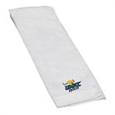 White Golf Towel-UMKC Roos w/Roo