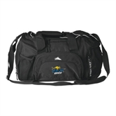 High Sierra Black Switch Blade Duffel-UMKC Roos w/Roo