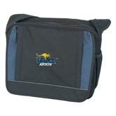 Saddle Bag Black w/ Blue-UMKC Roos w/Roo