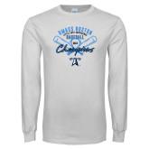 White Long Sleeve T Shirt-2018 Baseball Champions