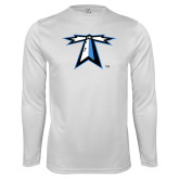 Performance White Longsleeve Shirt-Lighthouse