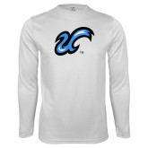 Performance White Longsleeve Shirt-The U