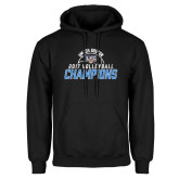 Black Fleece Hoodie-2017 Volleyball Champions