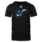Adidas Black Logo T Shirt-The U