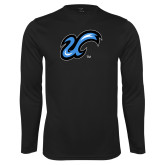 Performance Black Longsleeve Shirt-The U