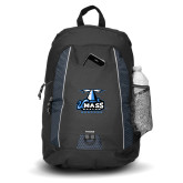 Impulse Black Backpack-Primary Logo