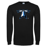 Black Long Sleeve T Shirt-Lighthouse
