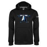 Under Armour Black Performance Sweats Team Hoodie-Lighthouse