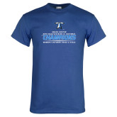 Royal T Shirt-2018 Womens Outdoor Track and Field Champions